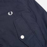 Fred Perry Portwood Men's Parka Dark Carbon photo- 4