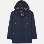 Fred Perry Portwood Men's Parka Dark Carbon photo- 0