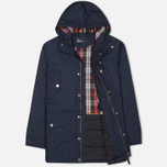 Fred Perry Portwood Men's Parka Dark Carbon photo- 1