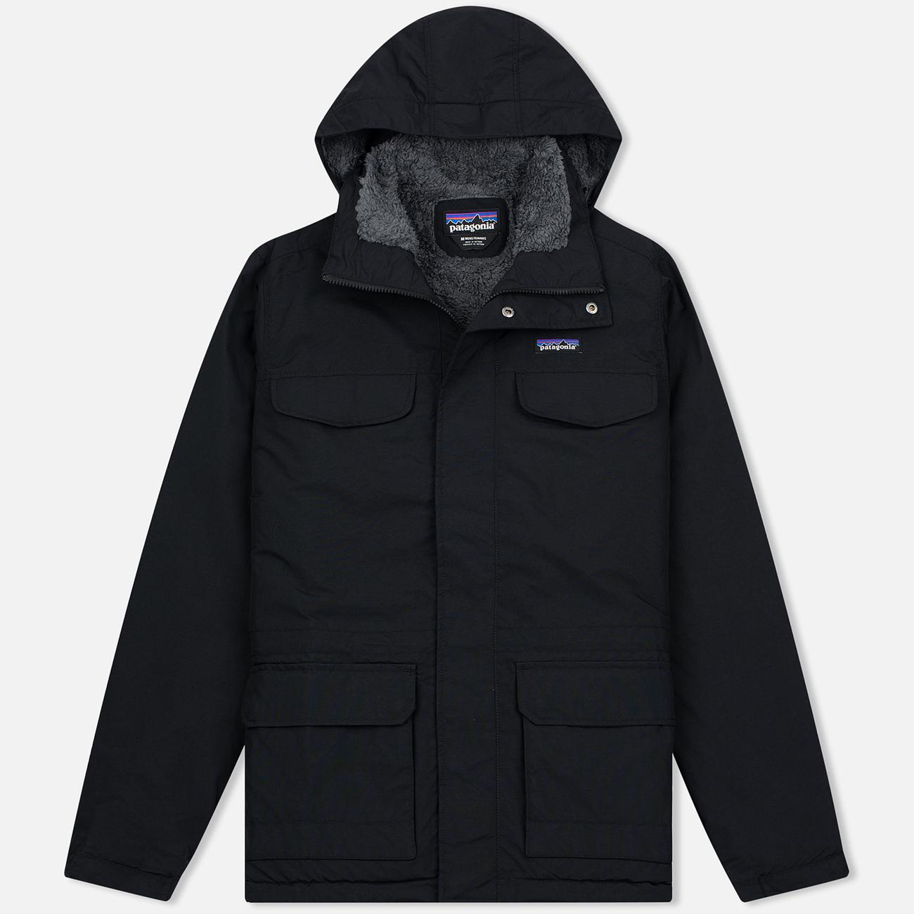 Мужская куртка парка Patagonia Isthmus Black