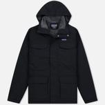 Мужская куртка парка Patagonia Isthmus Black фото- 0