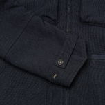 Мужская куртка парка Stone Island Shadow Project Garment Dyed Navy фото- 5