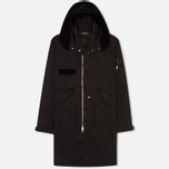 Мужская куртка парка Stone Island Shadow Project Raso-R Hooded Black фото- 0