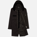 Мужская куртка парка Stone Island Shadow Project Raso-R Hooded Black фото- 1