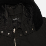 Мужская куртка парка Stone Island Shadow Project Raso-R Hooded Black фото- 2