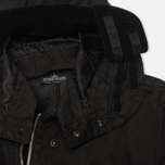 Мужская куртка парка Stone Island Shadow Project Raso-R Hooded Black фото- 10