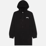 Мужская куртка парка Stussy SS-Link Stadium Black фото- 0