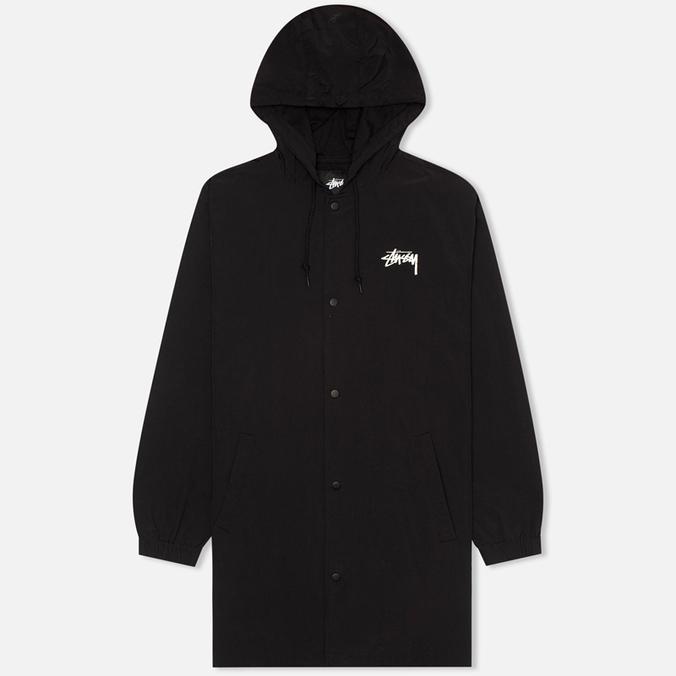 Мужская куртка парка Stussy SS-Link Stadium Black
