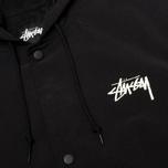 Мужская куртка парка Stussy SS-Link Stadium Black фото- 4