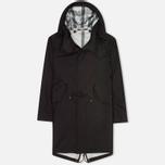 Мужская куртка парка Ten C 3L Black фото- 0