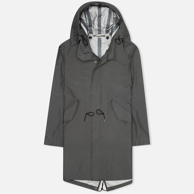 Ten C 3L Men's Parka Charcoal
