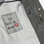Ten C 3L Men's Parka Charcoal photo- 7