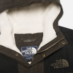 The North Face 1985 Sherpa Mountain Men's Parka Black Ink/Green photo- 2