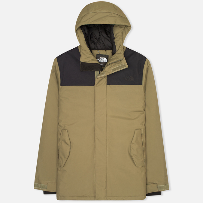Мужская куртка парка The North Face Meloro Burnt Oil/Green