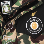 Куртка парка Puma x Bape Long Camo Green фото- 2