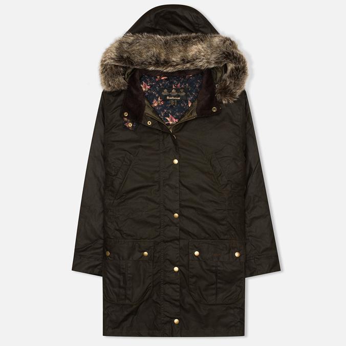 Женская куртка парка Barbour Tors Wax Olive