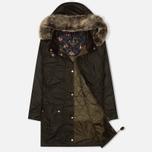 Женская куртка парка Barbour Tors Wax Olive фото- 1