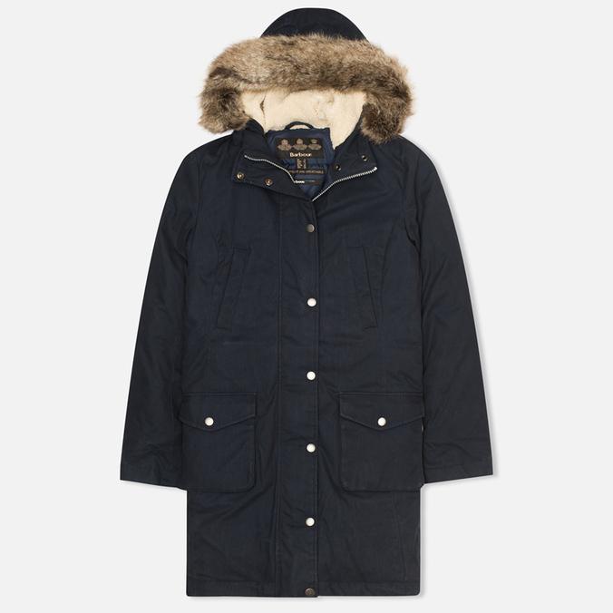 Женская куртка парка Barbour Wrest Navy