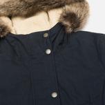 Женская куртка парка Barbour Wrest Navy фото- 2