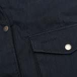 Женская куртка парка Barbour Wrest Navy фото- 4