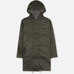 Fred Perry Oversized Fishtail Women's Parka Hunting Green photo- 0