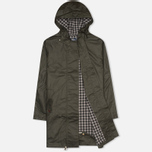 Fred Perry Oversized Fishtail Women's Parka Hunting Green photo- 1