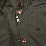 Fred Perry Oversized Fishtail Women's Parka Hunting Green photo- 4