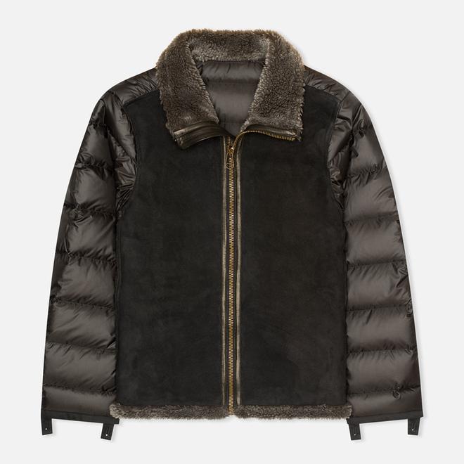 Мужская куртка подкладка Ten C Shearling 2 Grey