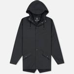 Мужская куртка дождевик Rains Jacket Black фото- 0