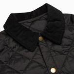 Детская стеганая куртка Barbour Heritage Liddesdale C Black фото- 2