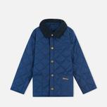 Детская стеганая куртка Barbour Heritage Liddesdale C Indigo фото- 0
