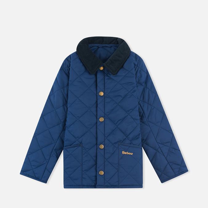 Детская стеганая куртка Barbour Heritage Liddesdale C Indigo