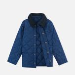 Детская стеганая куртка Barbour Heritage Liddesdale C Indigo фото- 1