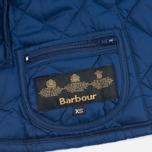 Детская стеганая куртка Barbour Heritage Liddesdale C Indigo фото- 6