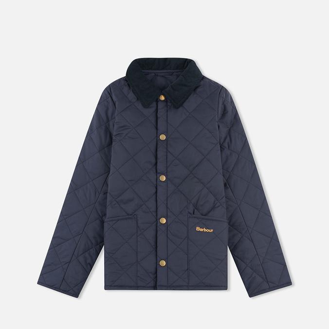 Детская стеганая куртка Barbour Heritage Liddesdale C Navy