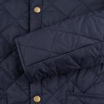 Детская стеганая куртка Barbour Heritage Liddesdale C Navy фото- 5