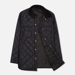 Barbour Akenside Men`s Quilted Jacket Black photo- 1
