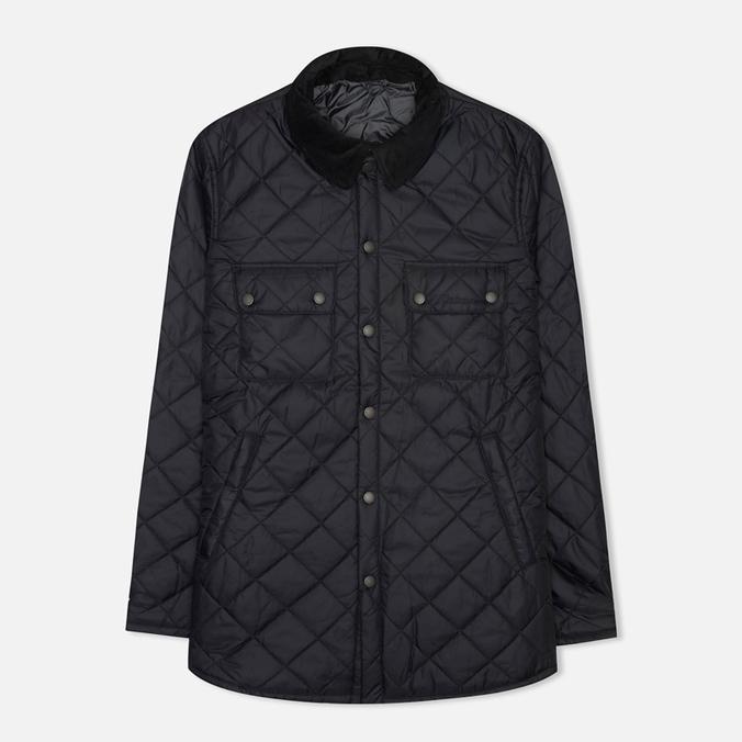 Мужская стеганая куртка Barbour Akenside Navy