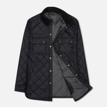 Мужская стеганая куртка Barbour Akenside Navy фото- 1