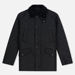 Мужская стеганая куртка Barbour Bardon Black фото- 0