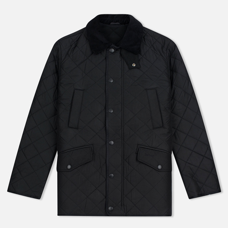 Мужская стеганая куртка Barbour Bardon Black