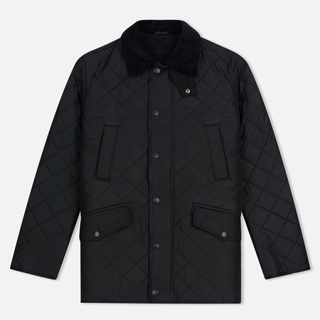 Barbour Bardon Men's Quilted Jacket Black
