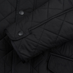 Мужская стеганая куртка Barbour Bardon Black фото- 3
