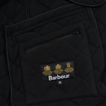 Мужская стеганая куртка Barbour Bardon Black фото- 6