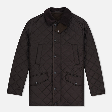 Мужская стеганая куртка Barbour Bardon Dark Brown