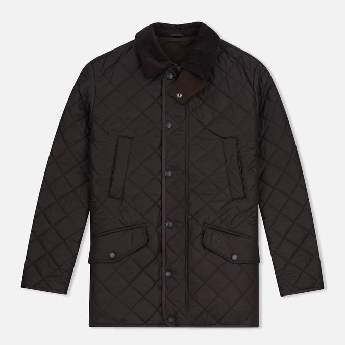 Мужская стеганая куртка Barbour Bardon Dark Brown
