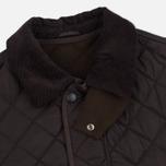 Мужская стеганая куртка Barbour Bardon Dark Brown фото- 1