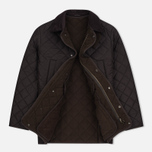 Мужская стеганая куртка Barbour Bardon Dark Brown фото- 2