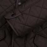 Мужская стеганая куртка Barbour Bardon Dark Brown фото- 3