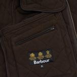 Мужская стеганая куртка Barbour Bardon Dark Brown фото- 6